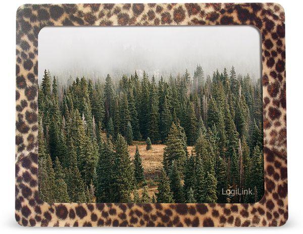 Mauspad LOGILINK ID0164, Fotorahmen, Leopard - Produktbild 2