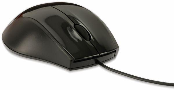 USB-MAUS SP MO-033, 1000 dpi, schwarz - Produktbild 3