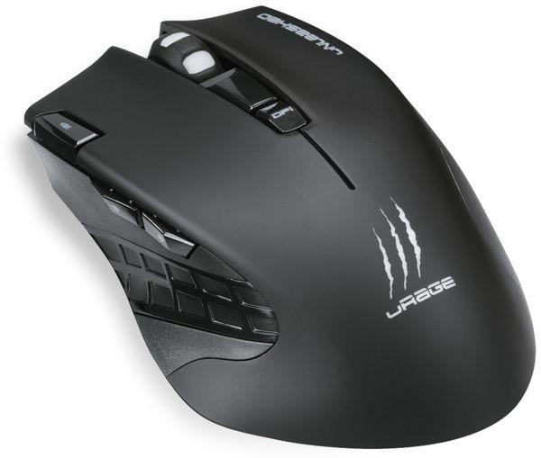 Gaming-Maus HAMA uRage Unleashed, Wireless, 4000 dpi - Produktbild 1