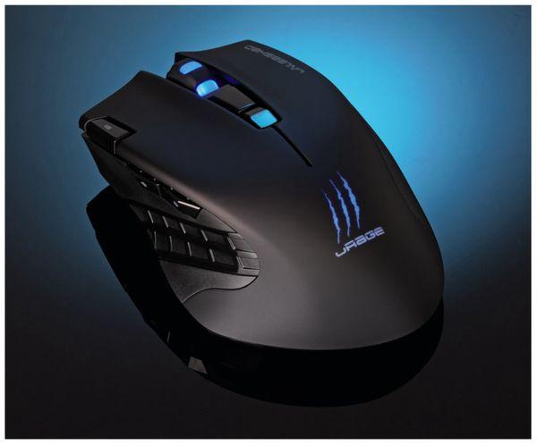 Gaming-Maus HAMA uRage Unleashed, Wireless, 4000 dpi - Produktbild 5