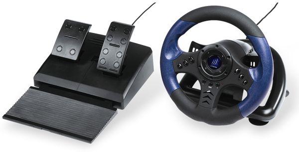 Racing Wheel HAMA uRage GripZ, mit Schaltwippen