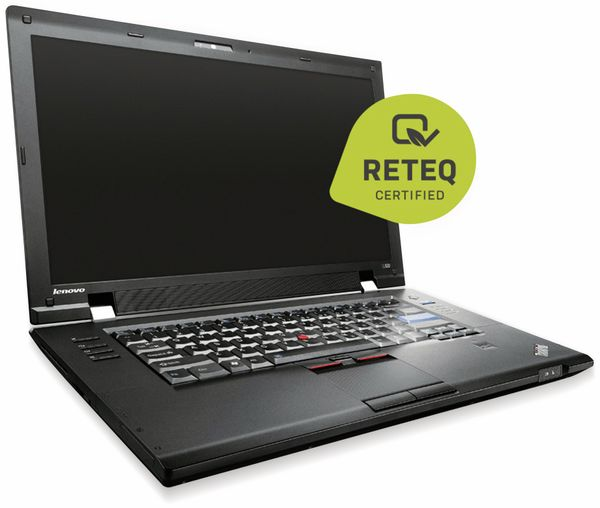 "Laptop LENOVO ThinkPad L520, 15,6"", Intel i5, 320 GB, Win10H, Refurbished - Produktbild 1"