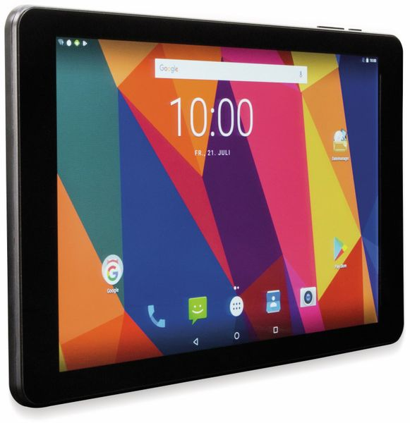 "Tablet CAPTIVA Pad 10 3G+, Android 7.0, 10.1"" IPS-Display, Quad-Core - Produktbild 1"