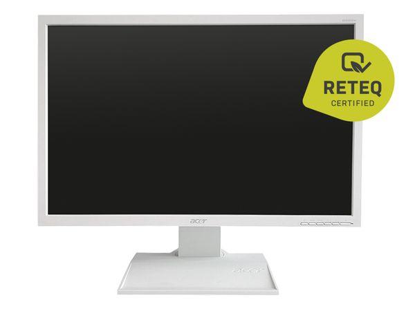 "TFT-Monitor ACER B223W-B-W, 22"", VGA, DVI - Produktbild 1"