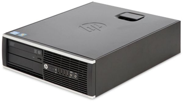 PC HP EliteDesk 8200 SFF, Intel i5, 4 GB RAM, 500 GB, Win10Pro, Refurbished - Produktbild 1