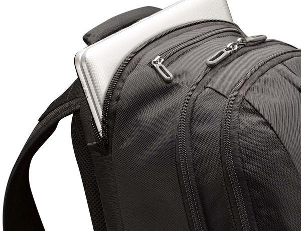 """Notebook-Rucksack CASE LOGIC RB217, 17,3"""", schwarz - Produktbild 2"""