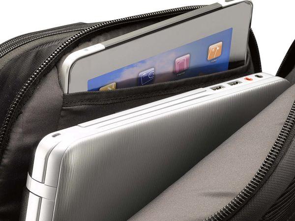 """Notebook-Rucksack CASE LOGIC RB217, 17,3"""", schwarz - Produktbild 3"""