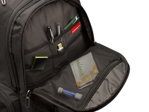 """Notebook-Rucksack CASE LOGIC RB217, 17,3"""", schwarz - Produktbild 8"""