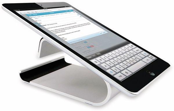 Ständer für Smartphones/Tablets LOGILINK AA0107, Aluminium - Produktbild 4