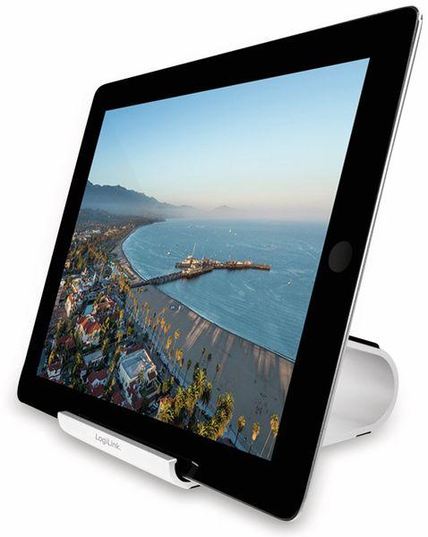 Ständer für Smartphones/Tablets LOGILINK AA0107, Aluminium - Produktbild 5