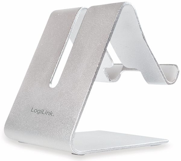 Smartphone/Tablethalter LOGILINK AA0122, Aluminium - Produktbild 1