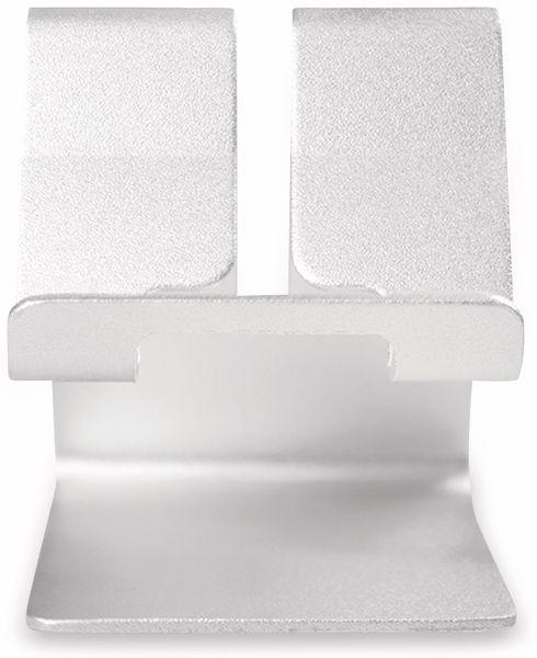 Smartphone/Tablethalter LOGILINK AA0122, Aluminium - Produktbild 4