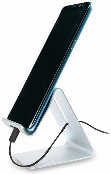 Smartphone/Tablethalter LOGILINK AA0122, Aluminium - Produktbild 6