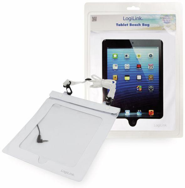 """Tablet-Tasche LOGILINK AA0037W, 10"""", wasserdicht, universal, weiß"""