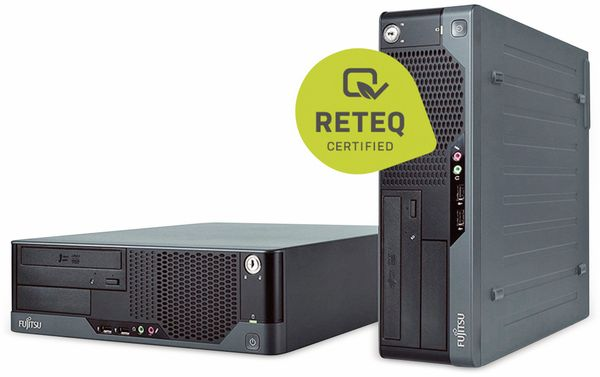 PC FUJITSU Esprimo E9900, Intel i3, 12 GB RAM, 256 GB SSD, Win10H, Refurb. - Produktbild 1