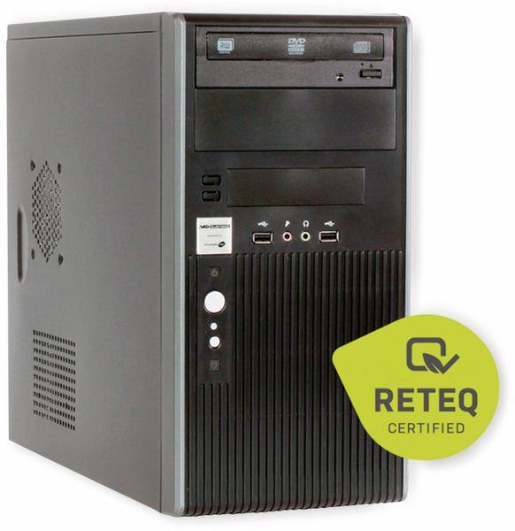 PC HYUNDAI Pentino H81 MT, 12 GB RAM, 500 GB HDD + 256 GB SSD, Refurb. - Produktbild 1