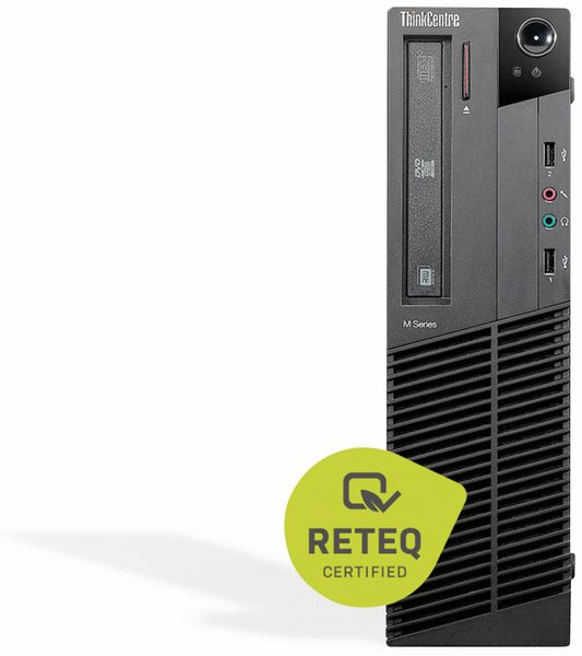 PC LENOVO ThinkCentre M77, AMD, 8 GB RAM, 1 TB HDD, Win10H, Refurb.