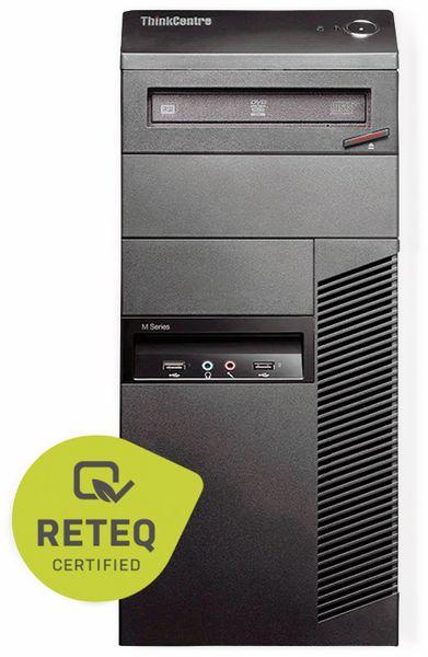 PC LENOVO ThinkCentre M83, 16 GB RAM, 512 GB SSD, Win10H, Refurbished - Produktbild 2