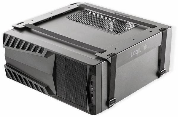 PC-Halterung LOGLINK EO0009, Gurt, Untertischmontage - Produktbild 2