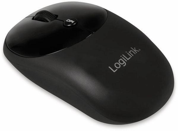 Funk Tastatur- und Maus-Set LOGLINK ID0178, Retro - Produktbild 4