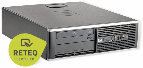 PC HP Compaq 8200 Elite SFF, Intel i5, 8GB RAM, 256GB SSD, Win10H, Refurb. - Produktbild 2