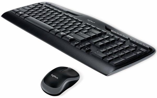 Desktop-Set Tastatur und Maus LOGITECH MK330, Wireless - Produktbild 2