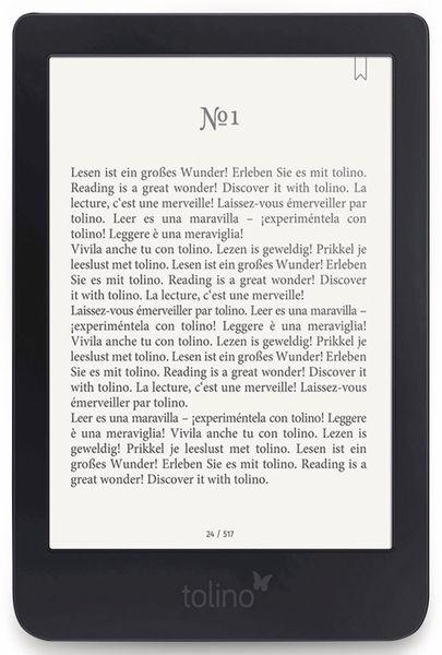 E-Book Reader TOLINO Shine 3 - Produktbild 1
