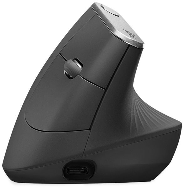 Funkmaus LOGITECH MX Vertical, Unifying, Bluetooth, 4000 dpi - Produktbild 2