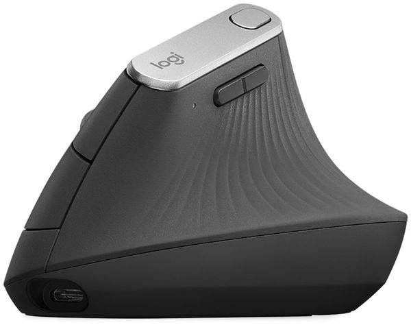 Funkmaus LOGITECH MX Vertical, Unifying, Bluetooth, 4000 dpi - Produktbild 3