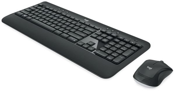 Funk-Tastatur- und Maus-Set LOGITECH MK540, Unifying, 1000 dpi - Produktbild 2
