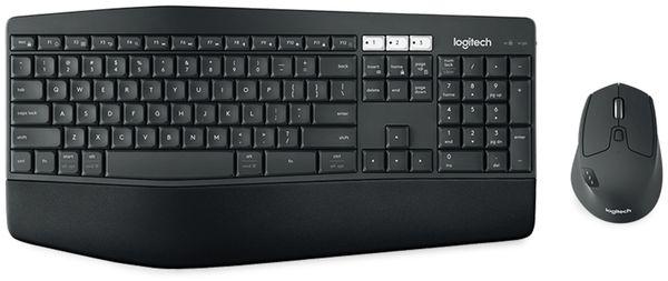Funk-Tastatur- und Maus-Set LOGITECH MK850, Unifying, 1000 dpi