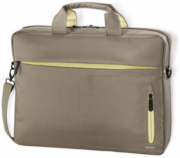 """Notebook-Tasche HAMA Marseille, 15,6"""", braun-gelb - Produktbild 1"""