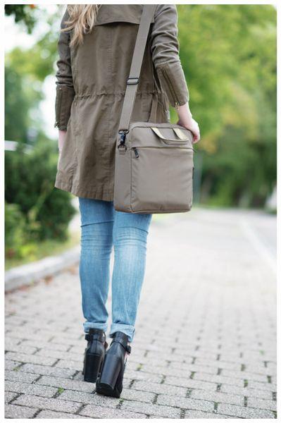 """Notebook-Tasche HAMA Marseille, 15,6"""", braun-gelb - Produktbild 4"""