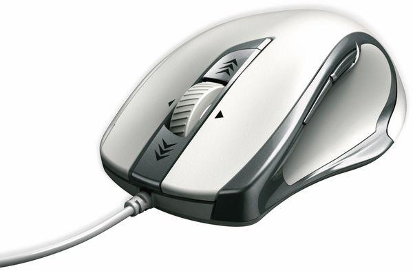 USB-Maus Torino, 6 Tasten, weiß