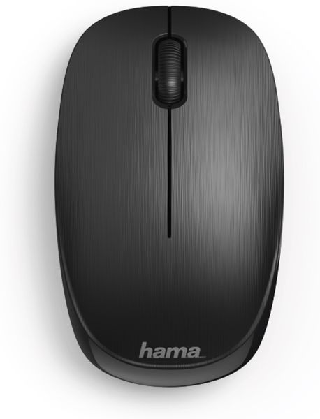 Funkmaus HAMA MW-110, 3 Tasten, schwarz - Produktbild 2