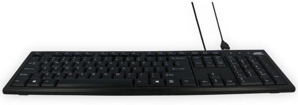 USB-Tastatur ARP, QWERTZ, schwarz - Produktbild 8