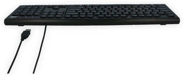 USB-Tastatur ARP, QWERTZ, schwarz - Produktbild 9