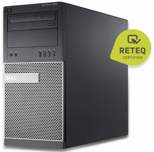 PC DELL Optiplex 9020MT, i7, 16 GB RAM, 256GB SSD/2 TB HDD, Win10P, Refurbished - Produktbild 2
