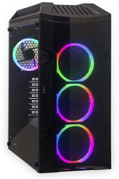 PC JOY-IT Gamer PC Intel i5-9600K 16GB RAM, 500GB SSD/2TB HDD, Win10P
