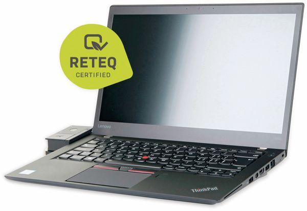 "Laptop LENOVO ThinkPad T460s, 14"", i5, 256GB SSD, Win10P, Refurbished - Produktbild 2"