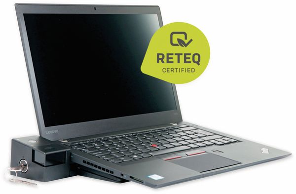 "Laptop LENOVO ThinkPad T460s, 14"", i5, 256GB SSD, Win10P, Refurbished - Produktbild 3"
