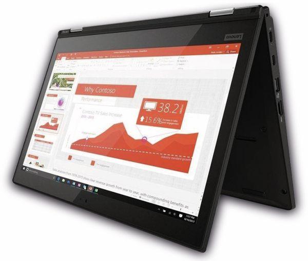 """Ultrabook LENOVO ThinkPad L380 Yoga, 14"""", Intel i7, 256GB SSD, Win10P, Refurbished - Produktbild 2"""