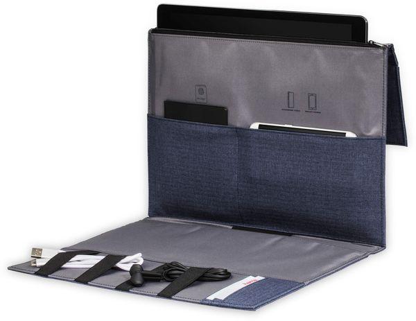 """Hama Tablet- und Zubehör-Tasche, bis 24,64 cm (9,7""""), Blau - Produktbild 2"""