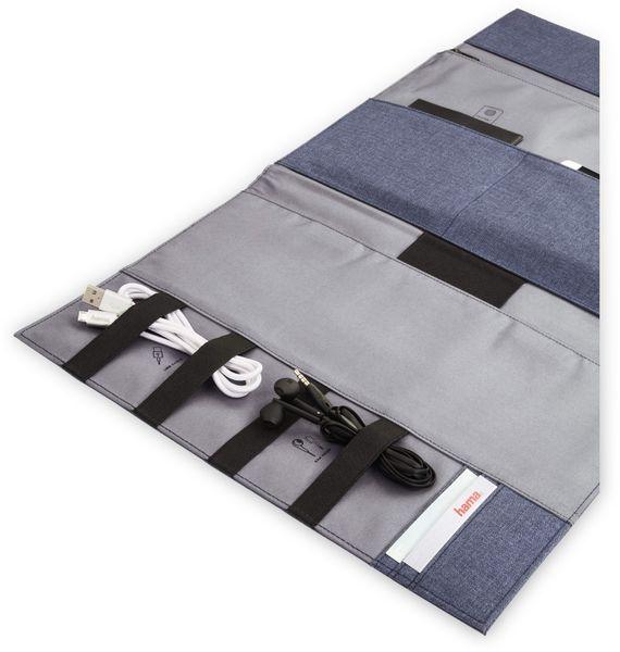 """Hama Tablet- und Zubehör-Tasche, bis 24,64 cm (9,7""""), Blau - Produktbild 3"""
