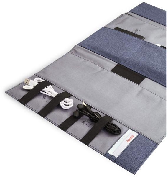 """Hama Tablet- und Zubehör-Tasche, bis 32,7 cm (12,9""""), Blau - Produktbild 3"""