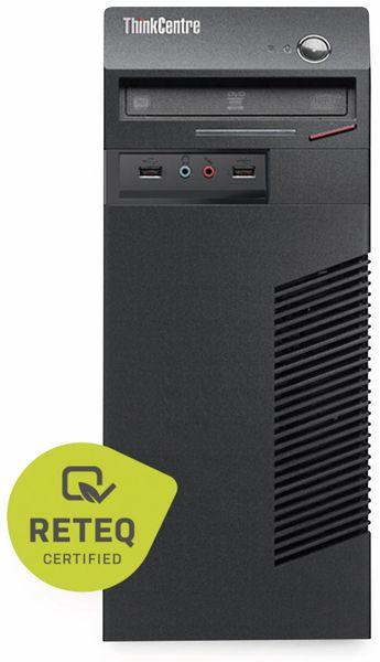 Tower-PC, Intel i3, 8 GB RAM; 500 GB HDD, Win10P, Refurbished