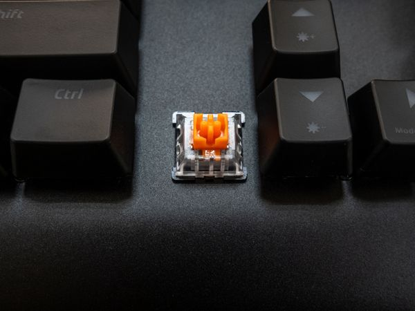 Gaming-Tastatur WICKED BUNNY Agility, Mechanisch, RGB - Produktbild 9