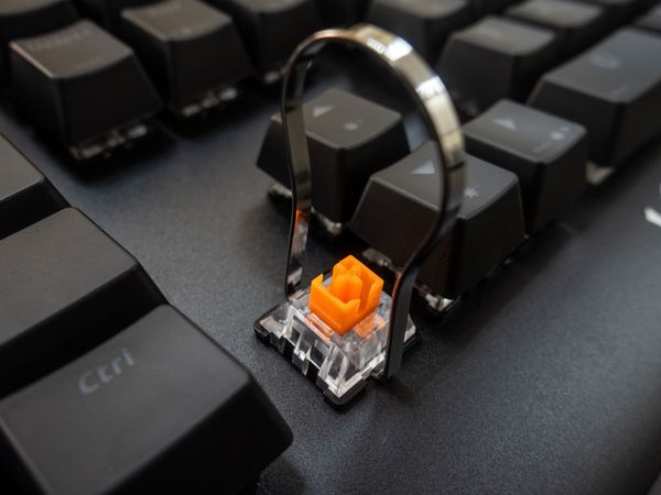 Gaming-Tastatur WICKED BUNNY Agility, Mechanisch, RGB - Produktbild 10
