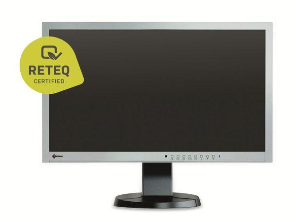"""23"""" IPS-Monitor EIZO FlexScan EV2335W-GB, VGA, DVI, schwarz-grau, Refurb."""
