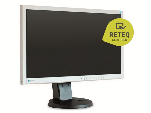 "23"" IPS-Monitor EIZO FlexScan EV2335W-GB, VGA, DVI, schwarz-grau, Refurb. - Produktbild 2"
